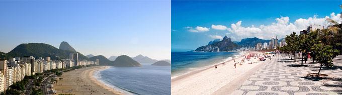 Praia de Copacabana Rio de Janeiro