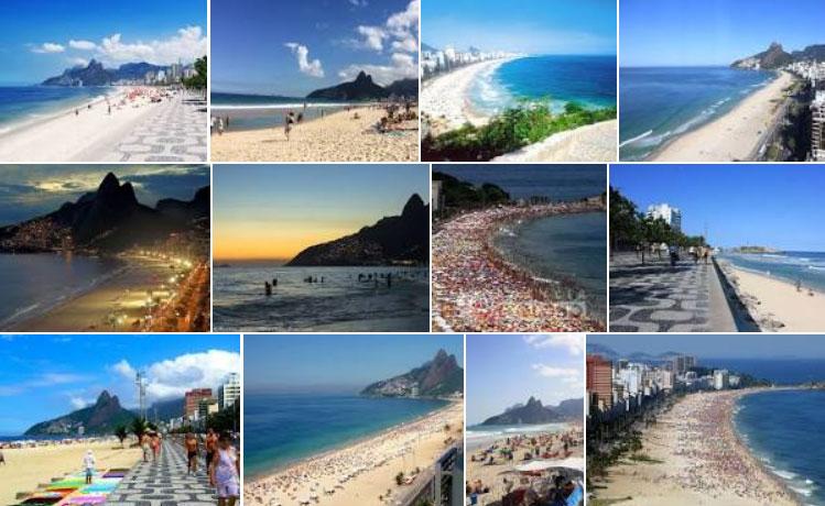 Praia de Ipanema Rio de Janeiro Fotos