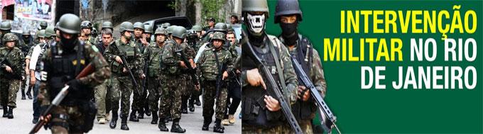 Intervenção Militar no Rio de Janeiro