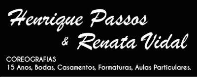 Henrique Passos e Renata Vidal
