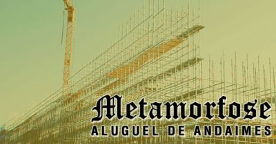 Metamorfose Aluguel de Andaimes